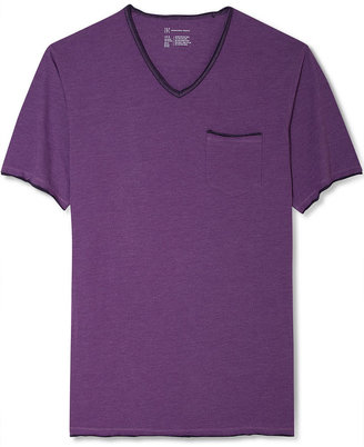 INC International Concepts T-Shirt, Vintage V-Neck Shirt