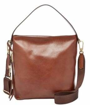 Fossil Maya Small Leather Hobo Bag