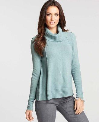 Ann Taylor A-Line Turtleneck Sweater
