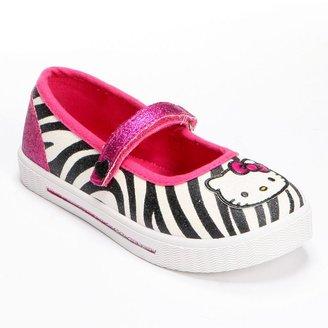 Hello Kitty lindy zebra mary janes - girls