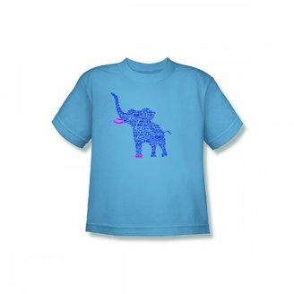 Discovery Animal Planet ROAR Elephant Youth T-shirt - Slate Blue
