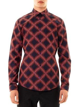 Balenciaga Geometric-print shirt