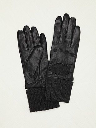 Carolina Amato Lined Leather Gloves