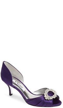Women's Nina 'Crystah' Embellished Satin Pump $94.95 thestylecure.com