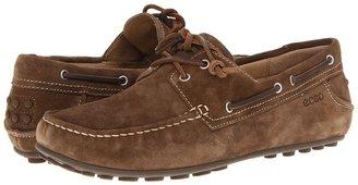 Ecco Cuno Tie-Moc (Cognac Leather) - Footwear