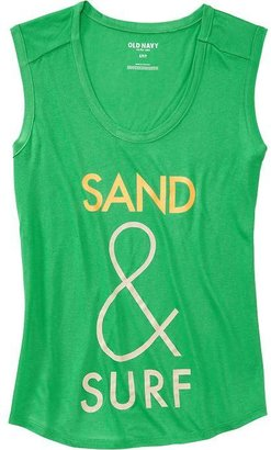 Old Navy Women's Graphic Muscle Tees
