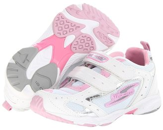 Tsukihoshi Mirage (Toddler/Little Kid) (White/Pink) - Footwear