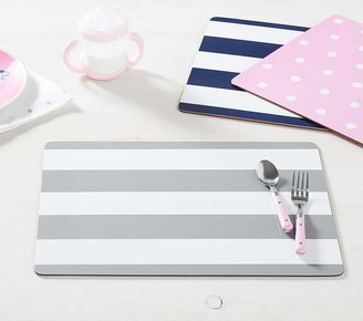 Pottery Barn Kids Rugby Cambria Placemat - Gray