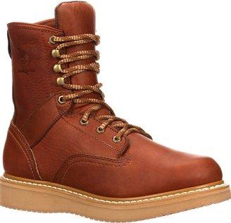 Georgia Boot Men's 8 Inch Wedge Work Shoe