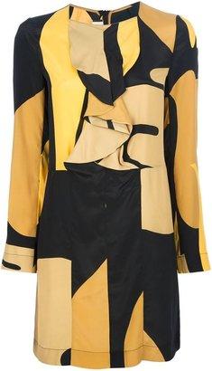 Marni long sleeve shift dress