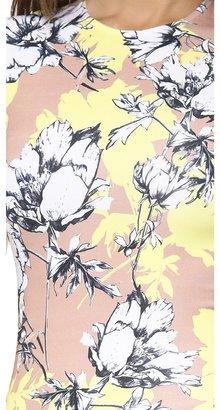 Torn By Ronny Kobo Morgan Floral Dress