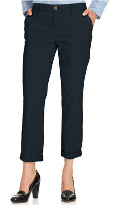 Tommy Hilfiger Cuffed Chino Straight-Leg Pants, Created for Macy's $59.50 thestylecure.com