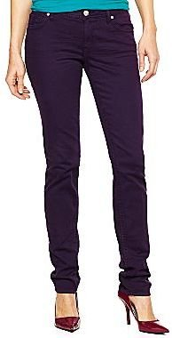JCPenney a.n.a® Colored Skinny Jeans- Talls
