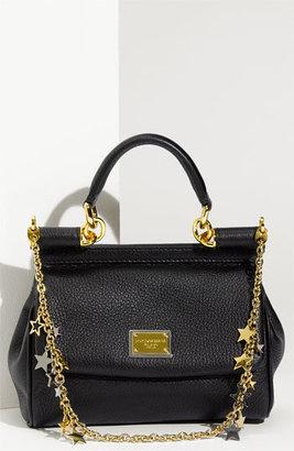 Dolce & Gabbana 'Miss Sicily - Mini' Satchel with Star Chain Strap