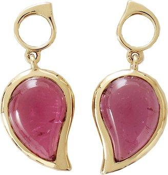 Tamara Comolli Pink Tourmaline Small Single Drop Earrings