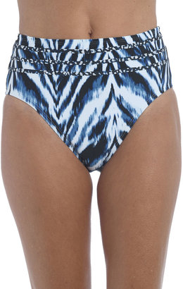 La Blanca Animal Instinct High-Waist Bikini Bottoms