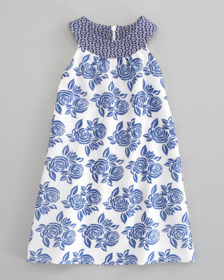 Charabia Sleeveless Floral Dress, Sizes 5-8