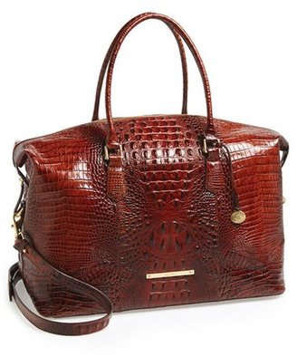 Brahmin 'Duxbury' Leather Travel Bag - Brown $495 thestylecure.com