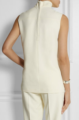 Calvin Klein Collection Stretch-crepe turtleneck top
