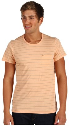 Obey Cruz S/S Knit Tee (Coral Sands) - Apparel
