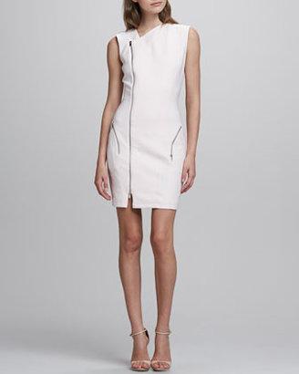 Elizabeth and James Rory Asymmetric Zip Dress