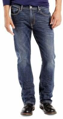 Levi's 527 Wave Allusions Slim Bootcut Jeans