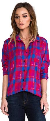 Splendid Juniper Flannel Button Down