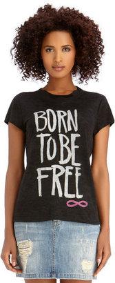Rachel Roy Born To Be Free Tee