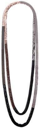 Laura B 'Ivana' double necklace