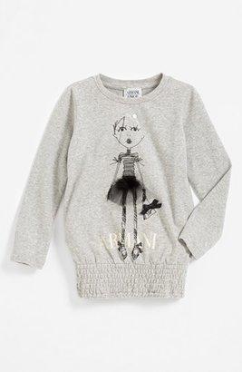 Armani Junior Tee (Toddler Girls, Little Girls & Big Girls)