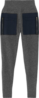 Stella McCartney Wool and cashmere-blend tapered pants