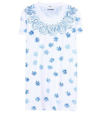 Jil Sander Printed cotton T-shirt