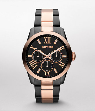Express Multi-Function Watch - Rose And Hematite