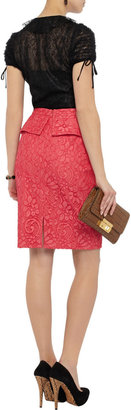 RED Valentino Ruffled lace top