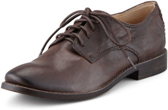 Frye Anna Leather Oxford, Brown