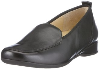 Hassia Women's Loafer Flats Black Size: 3.5