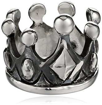 King Baby Sterling Silver Crown Ring, Size 7 $315 thestylecure.com