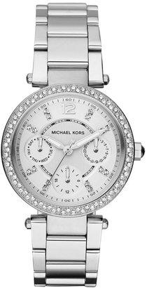 Michael Kors Women's Chronograph Mini Parker Stainless Steel Bracelet Watch 33mm MK5615 $275 thestylecure.com