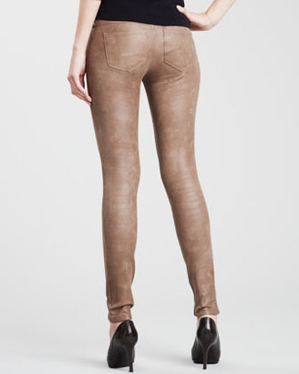 Sold Denim Hyde Faux-Leather Skinny Pants