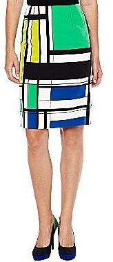 JCPenney Worthington® Printed Pencil Skirt