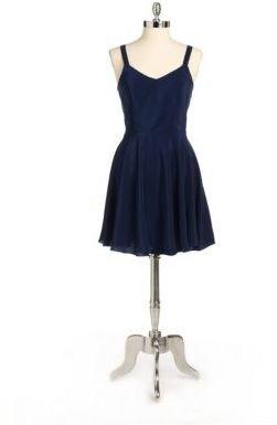 Jessica Simpson Cold Shoulder Blouson Dress