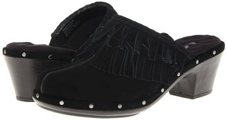 SoftWalk Maxton (Black Split Suede) - Footwear