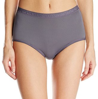 Vanity Fair Women's Perfectly Smooth Moves No Ride Brief