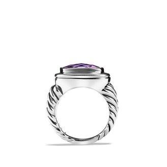David Yurman Albion Ring with Amethyst
