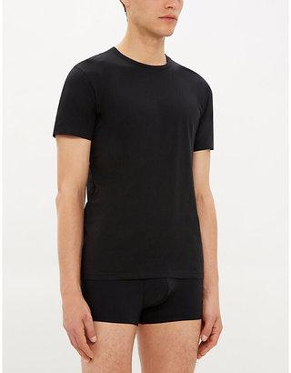 Polo Ralph Lauren Men's Black Two Pack Cotton Round-Neck TShirts, Size: XXL
