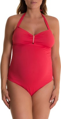 Pez D'or Solid One-Piece Maternity Swimsuit