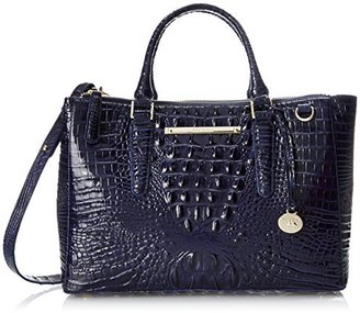 Brahmin Small Lincoln Satchel Top Handle Bag $365 thestylecure.com