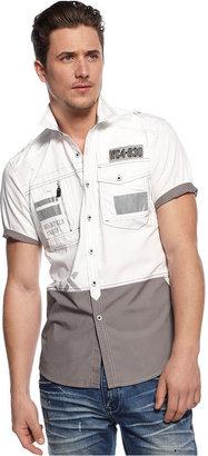 INC International Concepts Shirt, Barracks Shirt