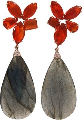 Irene Neuwirth JEWELRY Faceted Labradorite Drop Earrings