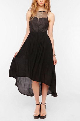 Ladakh Upstate Fishnet Maxi Dress